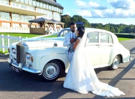 1963 Rolls Royce wedding car in Crawley